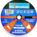 ABRASIVE FOX GRINDING DISC STEEL 115X6.0MM