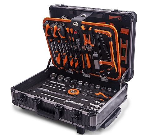 Air Bag Jack >> TOOL SET KENDO ALUMINIUM CASE 161PC | Go Green Store