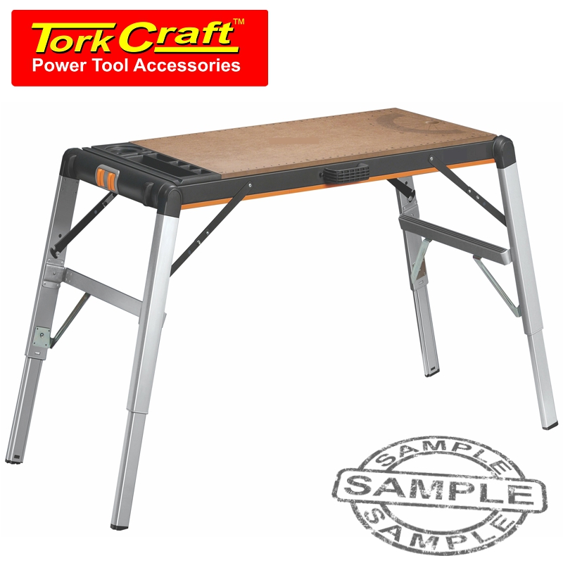 TORK CRAFT WORK BENCH TWO-IN-ONE WORK STATION & STANDING PLATFORM